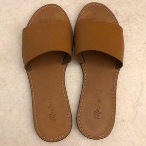 Madewell Boardwalk Post Slide Sandals